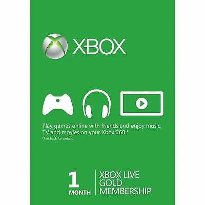 $ CDN12.15 • Buy XBOX Live 1 Month Gold Membership Code XBOX One 360 FAST DISPATCH (GLOBAL)
