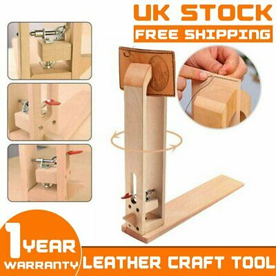 Desktop Lacing Leather Craft Hand Table Stitching Sewing Pony Horse Clamp Tool • 15.99£
