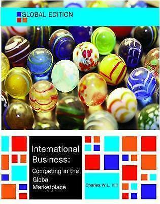 £9.50 • Buy International Business, Global Edition By Charles W. L. Hill (Paperback, 2014)