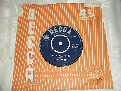 The Alan Price Set- I Put A Spell On You 7  Single • 1.50£