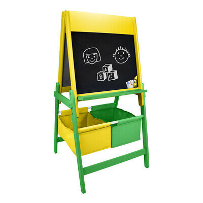 CRAYOLA Children's Double Sided Wooden Art Easel With Creative Accessories Set • 41.36£