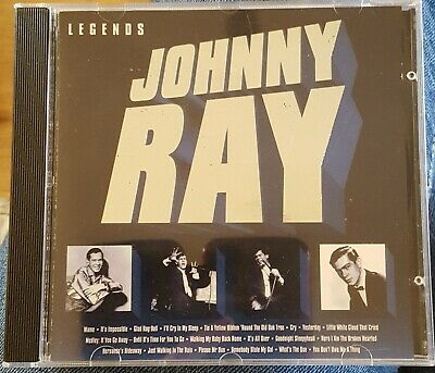 Johnny Ray : Legends (best Of) CD  • 1.50£