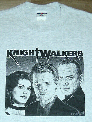 $ CDN94.72 • Buy T Shirt Vintage 90s Knightwalkers Cult Horror Sci Fi Movie Film TV 1998 RARE XL