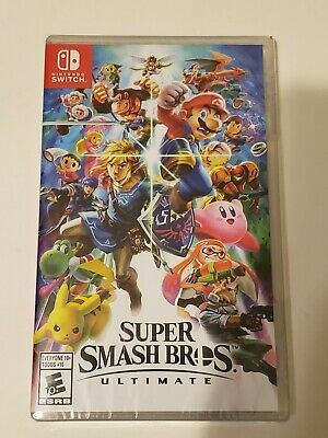 $54.99 • Buy Brand New Sealed Nintendo Switch Super Smash Bros. Ultimate FAST SHIPPING!!
