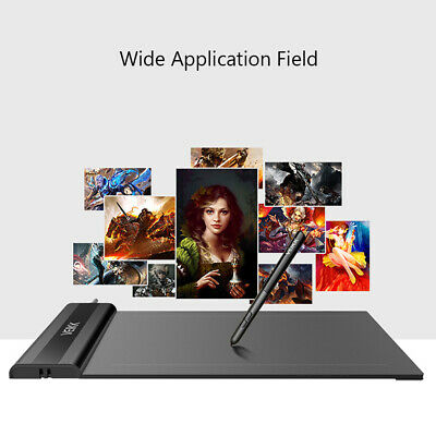 AU45.26 • Buy VEIKK S640 Digital Graphics 6*4 Inch Drawing Pen Tablet With 8192 Levels W4J1