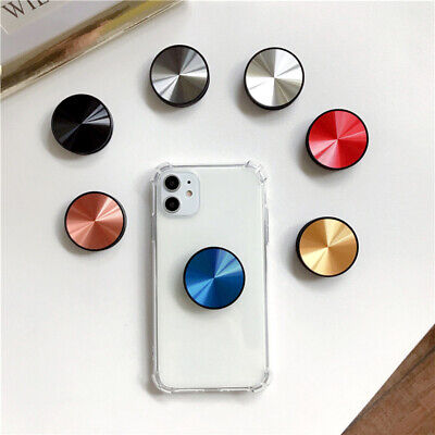 AU7.99 • Buy Universal Metal Disk Pop Up Socket Mount Grip Stand Mobile Phone Ring Holder AU