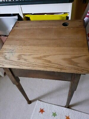 Old Wooden School Desk • 50£
