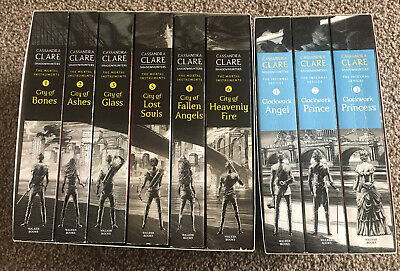 The Mortal Instruments And The Infernal Devices By Cassandra Clare 2 Box Sets • 22£