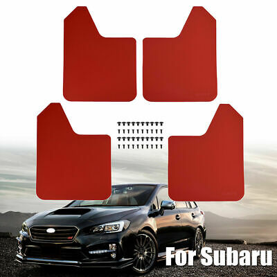 $54.99 • Buy XUKEY Red Mud Flaps Splash Guards Mudguards Mudflap For Subaru Forester Legacy