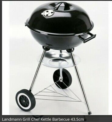Kettle BBQ Grill Chef  Family Barbecue Cooking Garden Patio Park Beach Outdoor • 190£