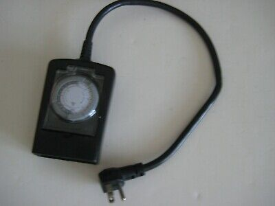 AU8.27 • Buy Utilitech Black Outdoor 2 Outlet Timer-On/Off Unlimited Periods, Setting Times