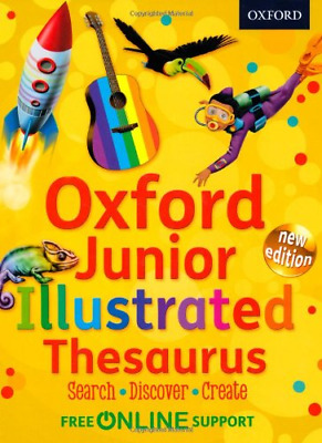 Oxford Junior Illustrated Thesaurus, Oxford Dictionaries, Good Condition Book, I • 4.89£