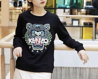 AU289.99 • Buy Brand New Womens Kenzo Paris Graphic Tiger Sweater Size S M L