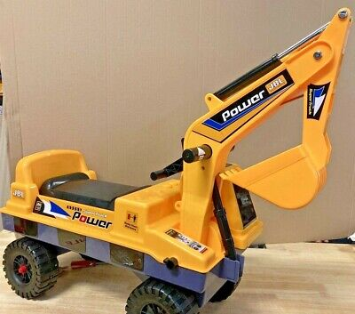 £29.99 • Buy KIDS RIDE ON TOY DIGGER TODDLER PUSH ALONG  EXCAVATOR With SOUNDS And Lights