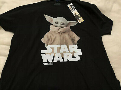 Star Wars The Mandalorion  Baby Yoda Official  Small Tee Shirt • 15£