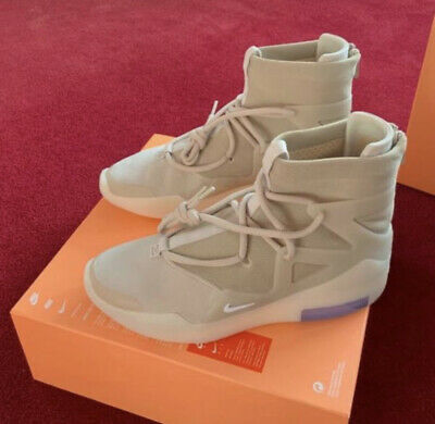 $525 • Buy New Nike Air Fear Of God Oatmeal's Size 8
