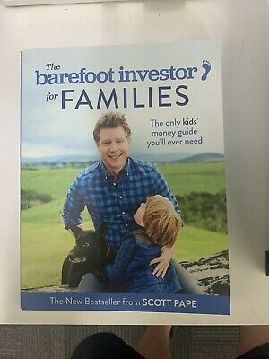 AU15.50 • Buy BOOK -The Barefoot Investor For Families: The Only Kids' Money Guide. Unread.