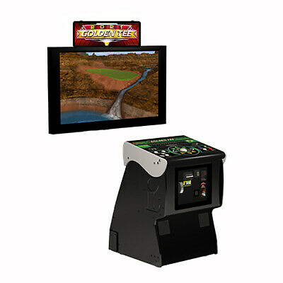 $4699 • Buy Incredible Technologies 2020 Golden Tee Golf Live Arcade Game W/o Monitor Stand