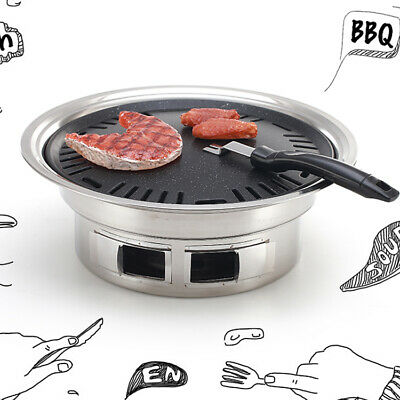 $ CDN114.51 • Buy BBQ Grill Portable Camping Barbecue Outdoor Cook Stainless Steel Roast Furnace