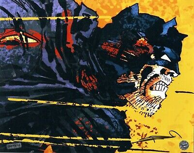 FRANK MILLER SIGNED AUTOGRAPH PRINT-NEAR MINT To MINT- • 157.96£