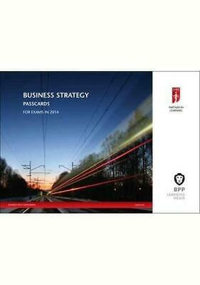 Icaew Business Strategy 2014 (Passcards), Very Good Condition Book, Bpp Learning • 9.35£