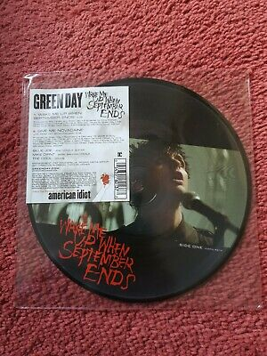 Green Day - Wake Me Up When September Ends - 2005 Picture Disc 7  Single • 20£