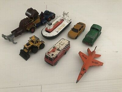 Vintage Matchbox Job Lot 1973-1999, Die Cast Models, Hoverboat, Tractor, Plane • 4.99£