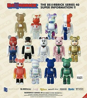 $69.99 • Buy Bearbrick Be@rbrick Series 40 100% By Medicom - You Pick! - Fast US Shipping.