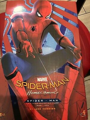 $475 • Buy Hot Toys Marvel Spider-Man MMS426 Deluxe Homecoming