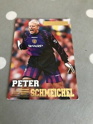 Peter Schmeichel Manchester United Merlins Premier Gold Card Not Panini 086 161 • 2.99£