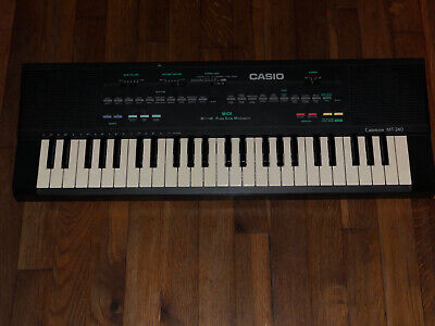 $200 • Buy Casio Casiotone MT-240 Electronic Keyboard 210 Sound Tone Bank Record Vintage