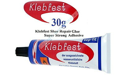 Shoe Glue Klebfest Repair Contact Adhesive Neoprene Pointe Boot Rubber Leather • 2.95£