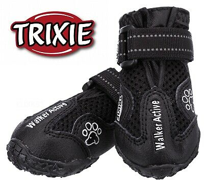 Trixie Protective Dog Puppy Boots Shoes   Anti Slip Waterproof Dogs Puppies Boot • 14.99£