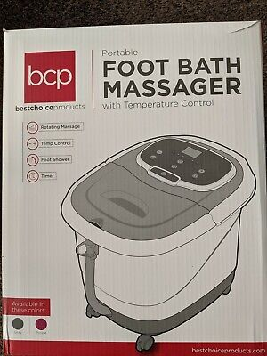 $10 • Buy Portable Heated Foot Bath Spa With  Massage Rollers - Never Used - NO RESERVE!!