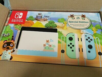 AU649 • Buy Nintendo Switch Animal Crossing: New Horizons Special Edition Console