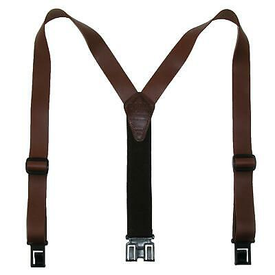$41.16 • Buy New Perry Suspenders Men's Leather Dress Hook End Suspenders