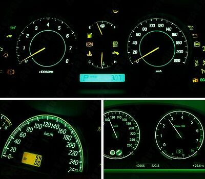 $9.99 • Buy Ford Explorer Mountaineer Headlight Instrument Panel Replacement Bulb Green LED