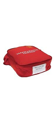 Manchester United FC Kids Kit Lunch Bag Official Brand New Back To School • 8.99£