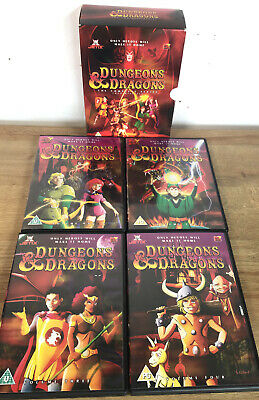 Dungeons And Dragons - Complete (DVD, 2004, Animated, Box Set) • 24.95£