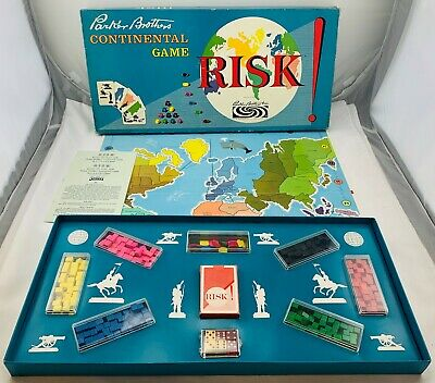 $50.99 • Buy 1963 Risk Game Parker Brothers Complete In Great Condition FREE SHIPPING