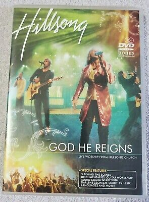 $9.99 • Buy Hillsong God He Reigns (DVD, 2005, 2-Disc) Live Worship From Hillsong Church