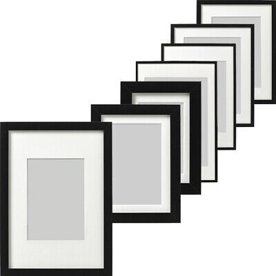 Ikea RIBBA Photo Picture Frame Display Image Vertical Horizontal Poster Frame • 14.99£