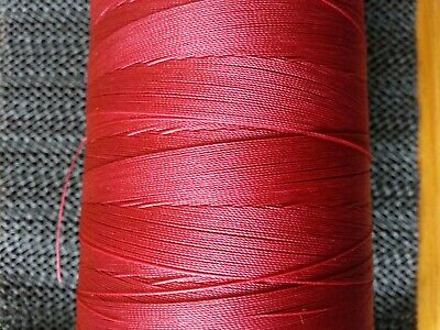100mtrs. Whipping Thread EXTRA STRONG Nylon  RED CLARET BUY 2 GET ONE FREE • 5.10£