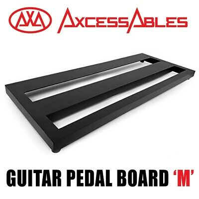 $ CDN61.87 • Buy AxcessAbles Guitar Pedal Board M, Double Space Guitar Pedal Board With Carry Bag