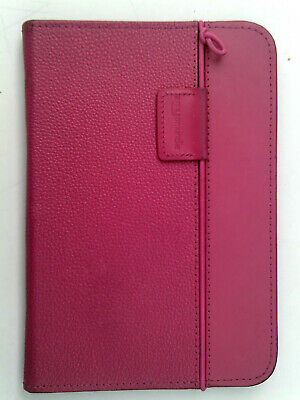 Amazon Kindle Keyboard Pink Leather Lighted Cover Case • 14.99£