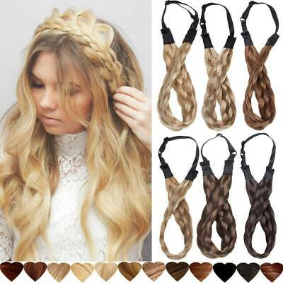 $7.91 • Buy Hair Accessories Braid Hairbands Woman Twist Plait Plaited Elastic Headbands US