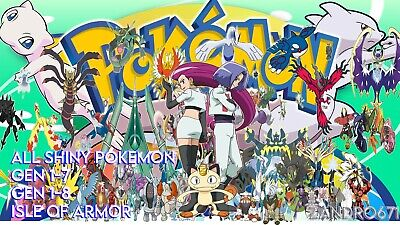 $35.50 • Buy POKEMON HOME - ALL 900+ Gen 1-8 And Isle Of Armor