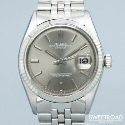 $ CDN7827.48 • Buy Rolex Oyster Perpetual Datejust 1601 Vintage Cal.1570 SS Automatic Mens Watch