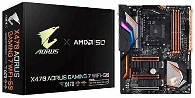 AU693.45 • Buy GIGABYTE X470 AORUS GAMING 7 WIFI-50 AMD 50 Anniversary Model ATX Motherboard