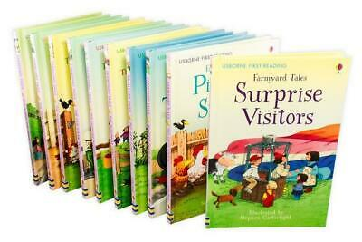 £19.99 • Buy Usborne First Reading Farmyard Tales 10 Books Set Collection Dolly And The Train